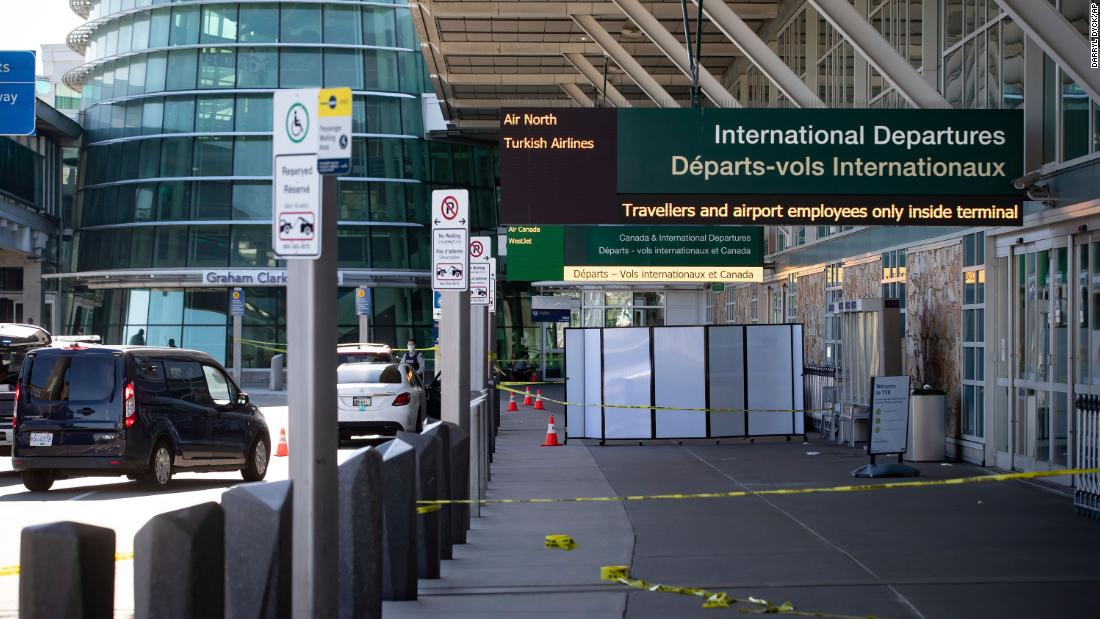 Officials searching for suspects after Vancouver International Airport shooting left one person dead