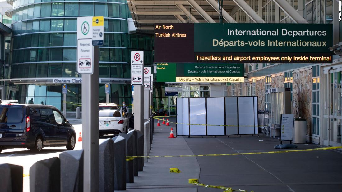 Officials searching for suspects after Vancouver International Airport shooting left one person dead - cnn