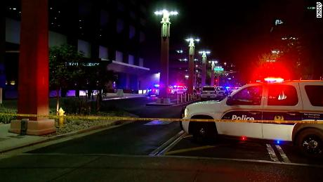 One man died and seven more people were injured in a shooting at a Phoenix hotel.