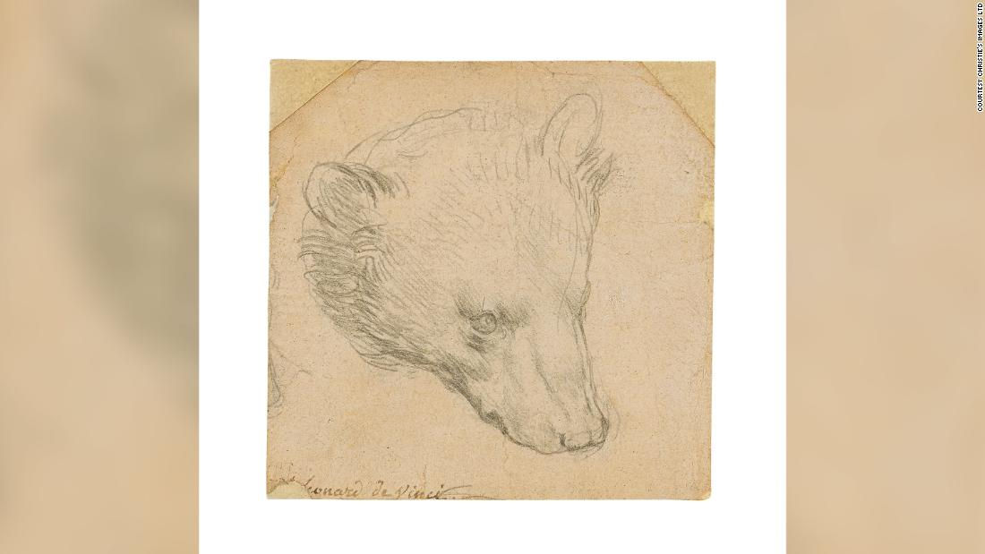 Tiny sketch by Leonardo da Vinci could sell for $16m