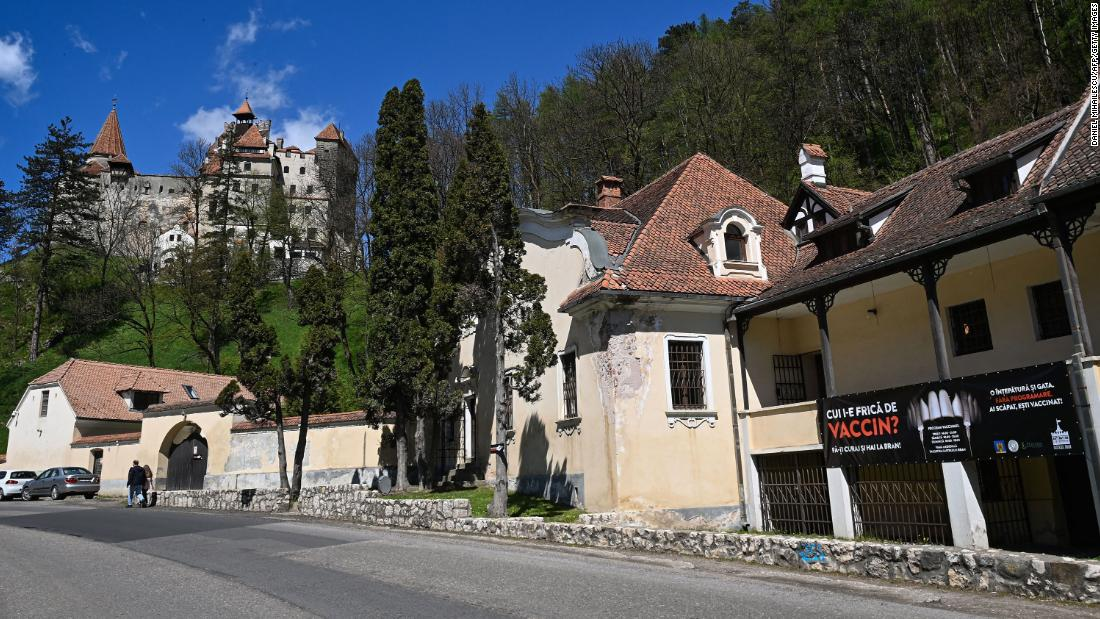 Dracula's castle is offering free Covid-19 vaccinations to anyone brave enough to visit