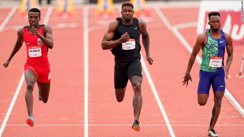 NFL star DK Metcalf runs 10.36 seconds for 100 meters, but fails to qualify for 2020 Olympics