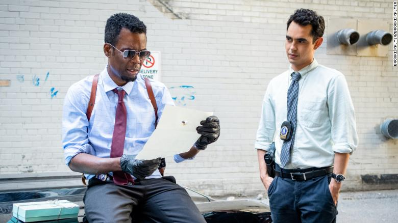 'Spiral' strands Chris Rock in a not-quite 'Saw' sequel that goes down the drain