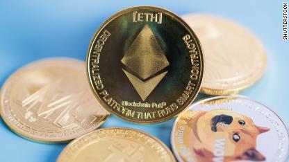 Ethereum crytocurrencies STOCK