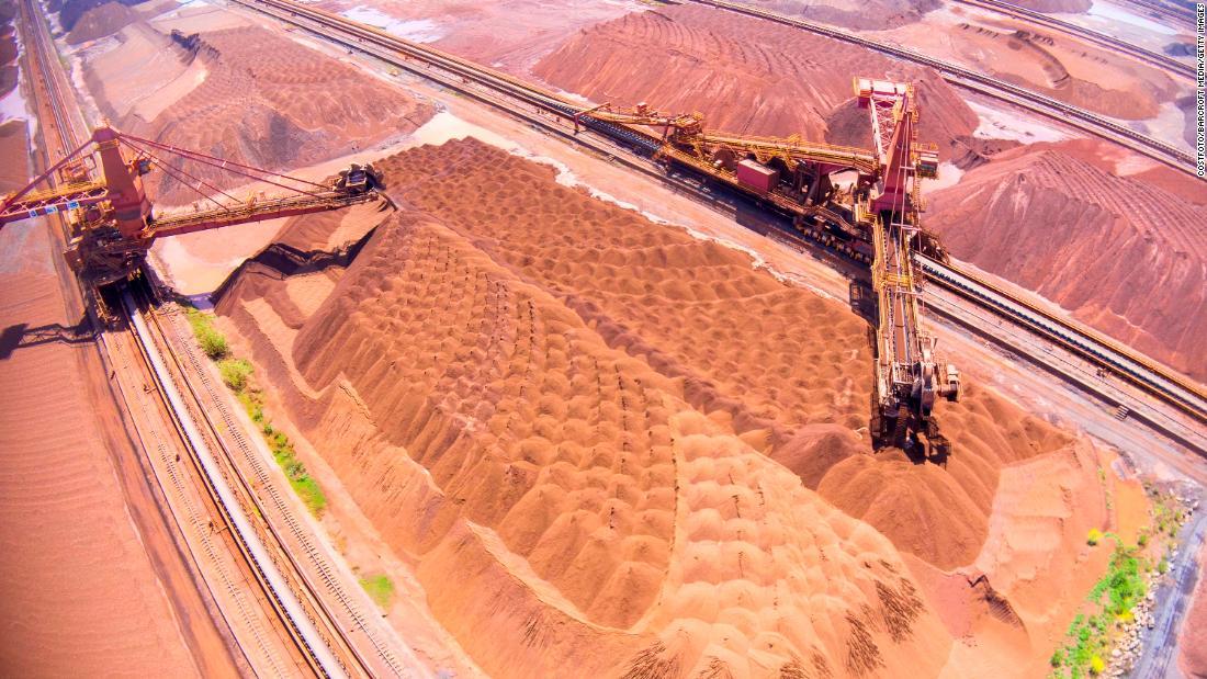Iron ore prices go ballistic as metals boom