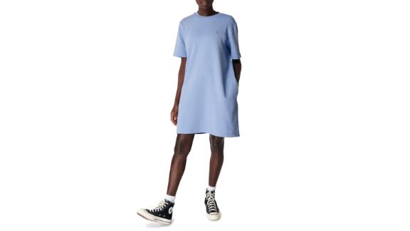 Sweaty Betty Essentials Cotton T-Shirt Dress