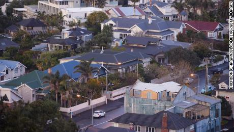 Houses in Auckland, New Zealand.