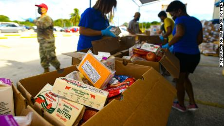 The USDA's Farmers to Families Food Box program delivered  more than 160 million boxes to hungry families over the past year.