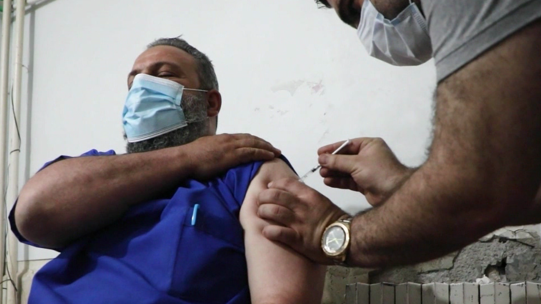 India's vaccine delays impact rebel-held Idlib in Syria