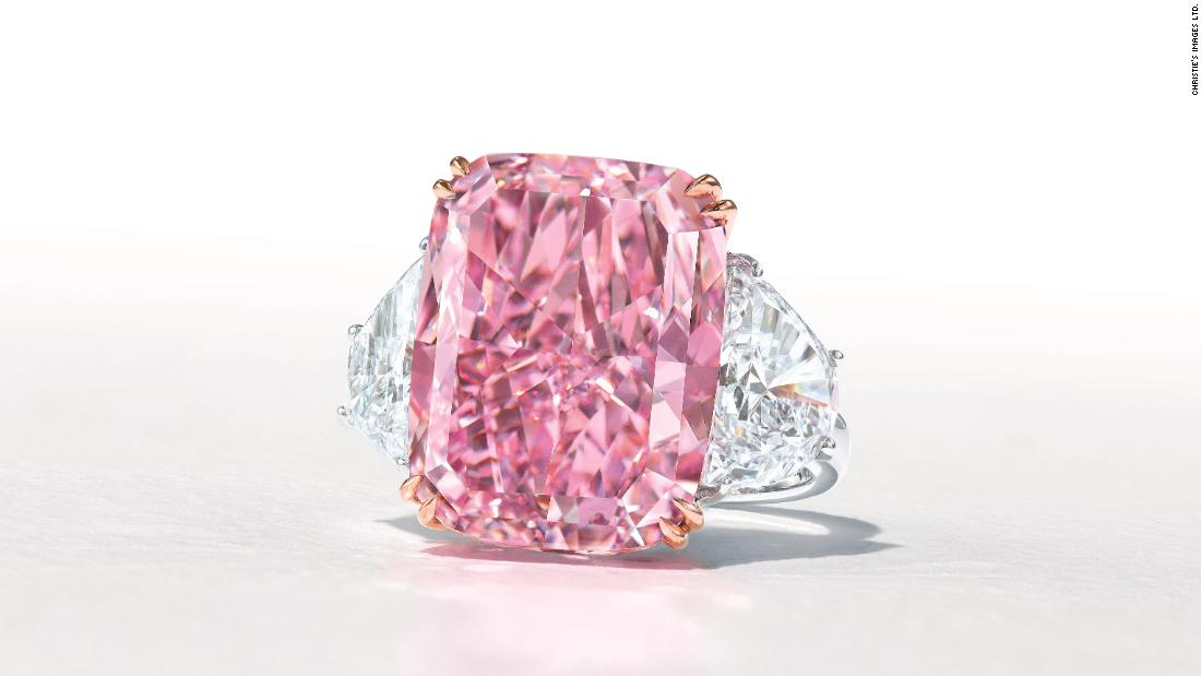 This rare purple-pink diamond could make $38M at auction