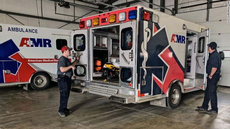 American Medical Response says it can't afford to keep providing services to Fremont County after losing $1.5 million in revenue last year.