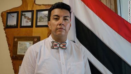 Jordan Dresser, chairman of the Northern Arapaho Tribe.