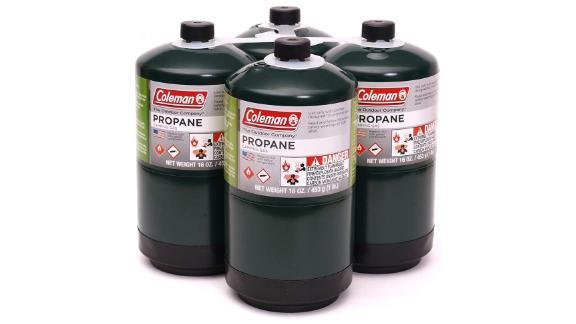 Coleman Propane Fuel, 4-Pack