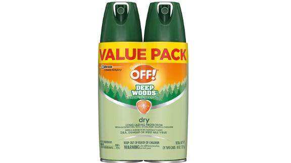 OFF! Deep Woods Insect & Mosquito Repellent VIII, 2-Pack