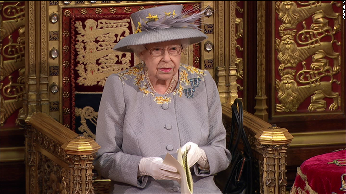 Watch Queen Elizabeth's full speech opening parliament