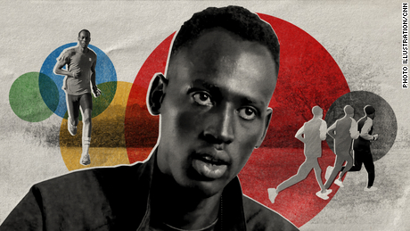Althlete Abraham Majok Matet Guem and his team say they are participating in the Olympics to promote the message of peace and unity for South Sudan.