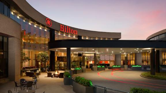 You'll have top-tier elite status with the Hilton Aspire card when you visit spots like the Hilton Washington Dulles Airport hotel.