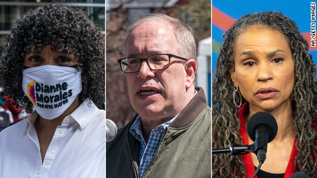 The left is split and searching for a path in topsy-turvy New York mayoral race