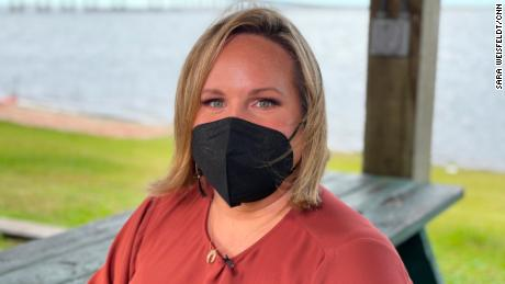 Rachael Colón believes strongly that masks are still needed while the pandemic lingers.