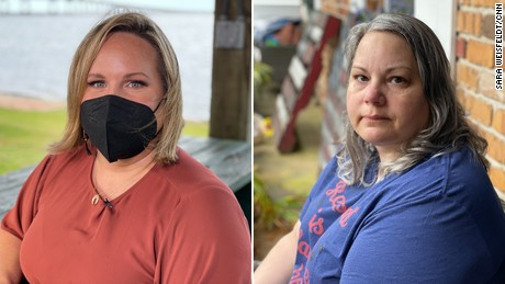 2 moms in the same county have totally different views on masks in schools