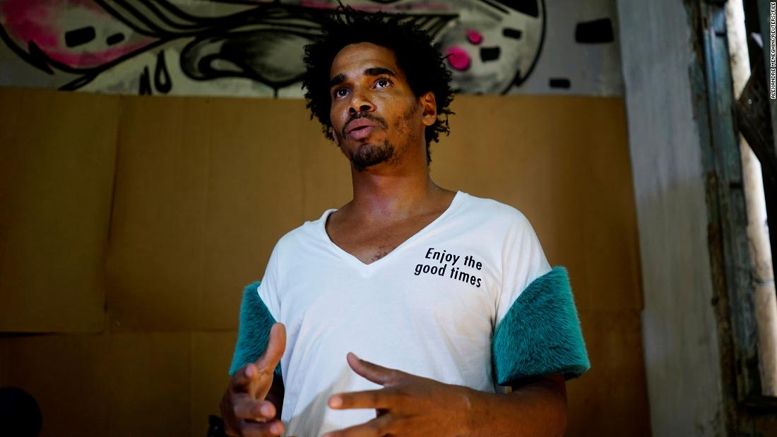 Why is one of Cubas most rebellious artists still isolated in a government hospital?