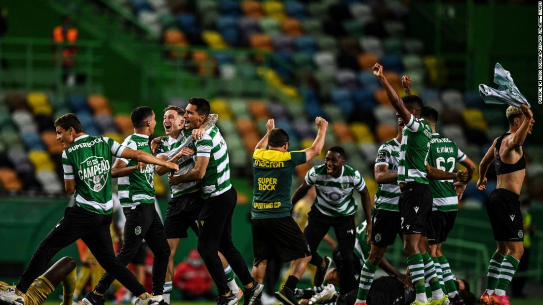 Sporting Lisbon's bittersweet title win after 19 years of hurt