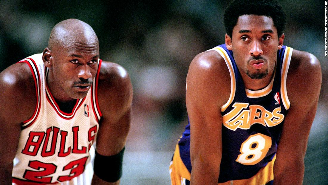 Michael Jordan shares final text messages he exchanged with Kobe Bryant