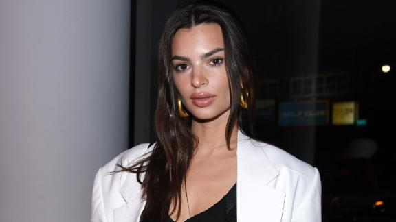Emily Ratajkowski attends the Proenza Schouler fashion show during February 2020 - New York Fashion Week: The Shows on February 10, 2020 in New York City.