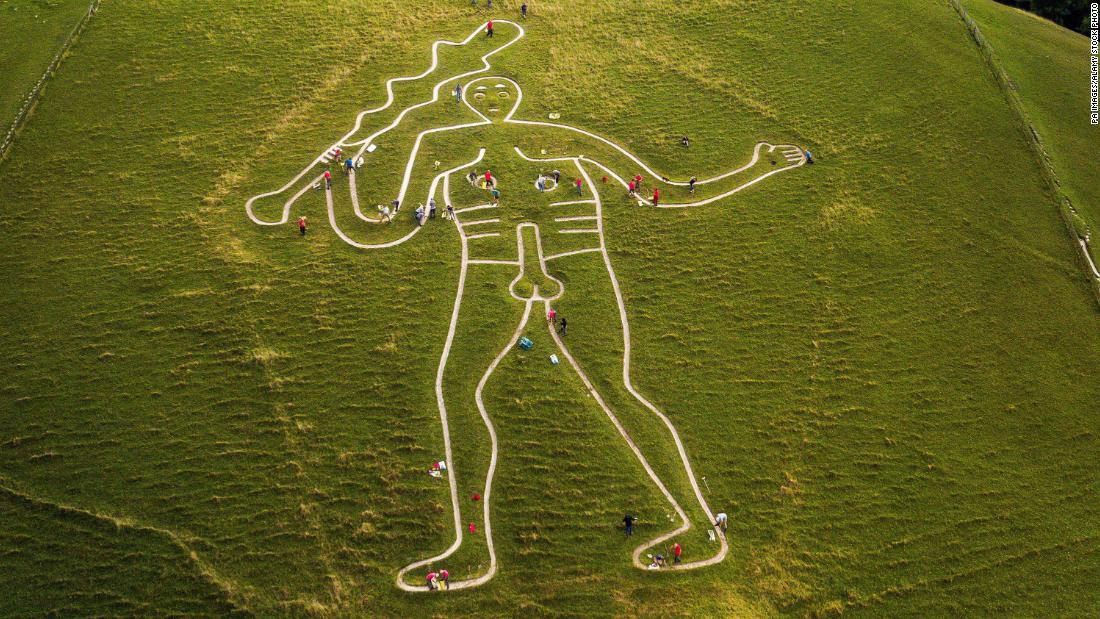 Famously well-endowed giant etched on a hillside isn't as old as we thought
