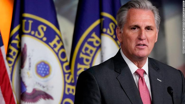 Kevin McCarthy just tried to gaslight the entire country on the 2020 election