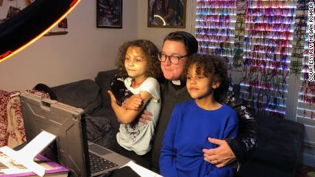 """Rohrer said their children enjoy appearing in live streamed church services and are """"very excited to be the kids of a bishop."""""""