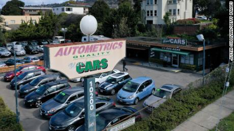 There is a 10% increase in prices for used cars and trucks.