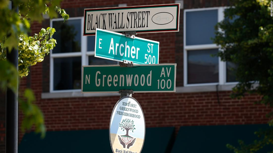 100 years ago, this area was known as Black Wall Street. Then it came to a heartbreaking end