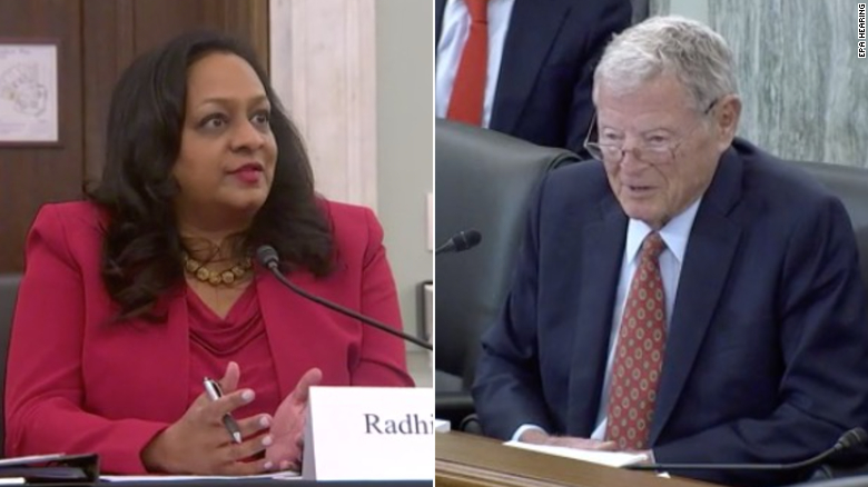 Inhofe tells EPA nominee, 'if you don't behave, I'm going to talk to your daddy'
