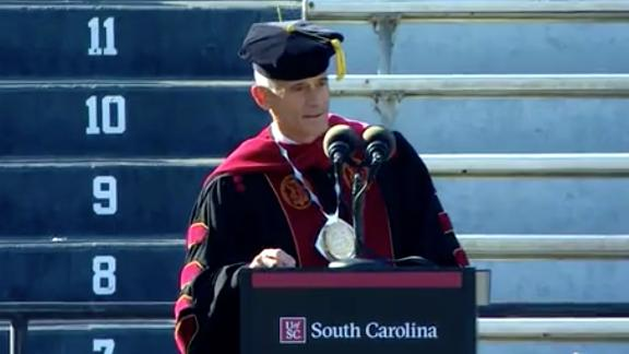 Image for A university president resigned after a recent plagiarized speech. It's not the first commencement address lifted
