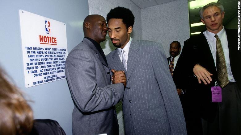 Michael Jordan to present Kobe Bryant at Hall of Fame induction