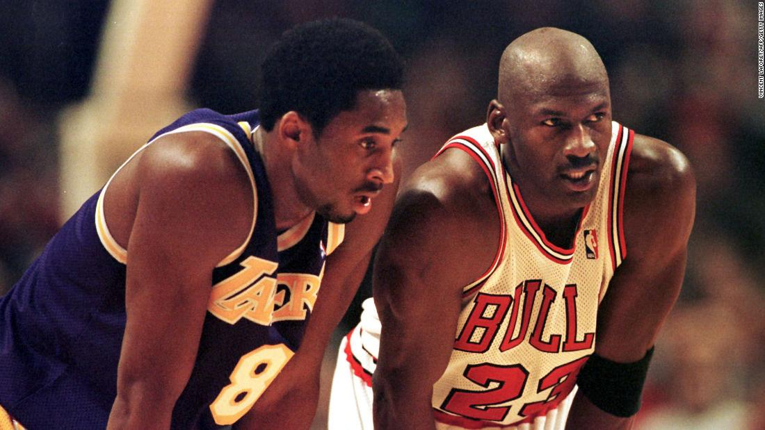 Michael Jordan will once more show Kobe Bryant the way to basketball's most elite honor