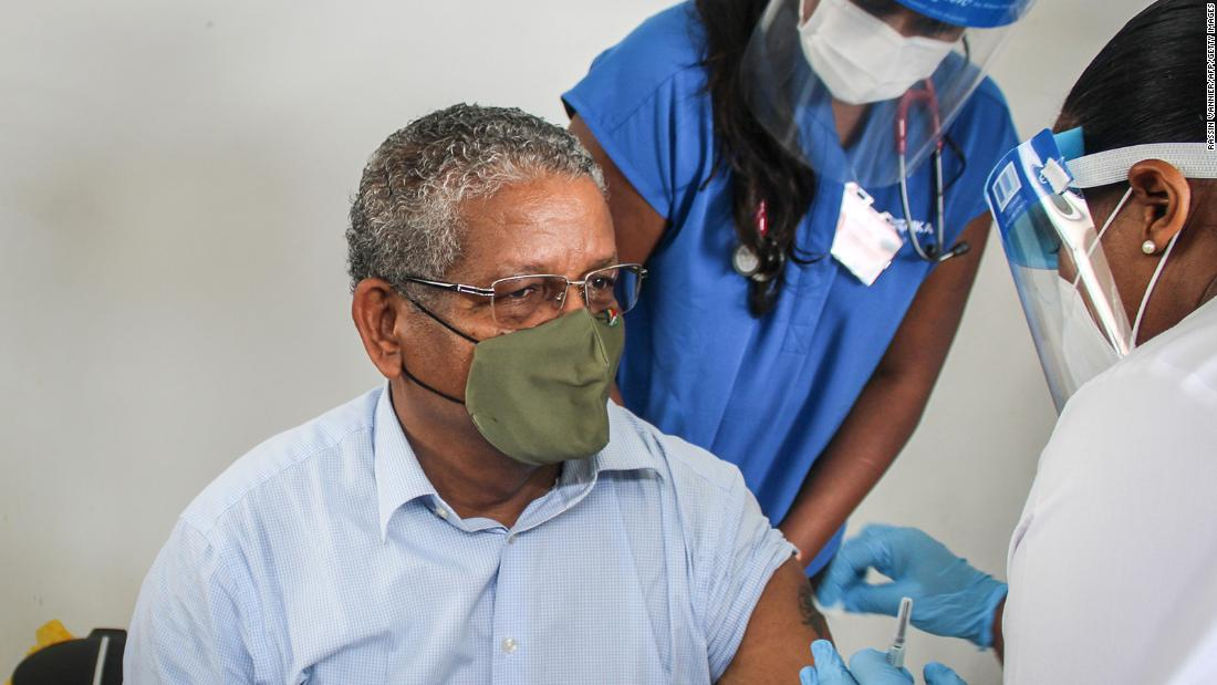 Seychelles, vaccine covid19, vaccine coronavirus,Sinopharm, AstraZeneca,President of Seychelles Wavel Ramkalawan, Harbouchanews