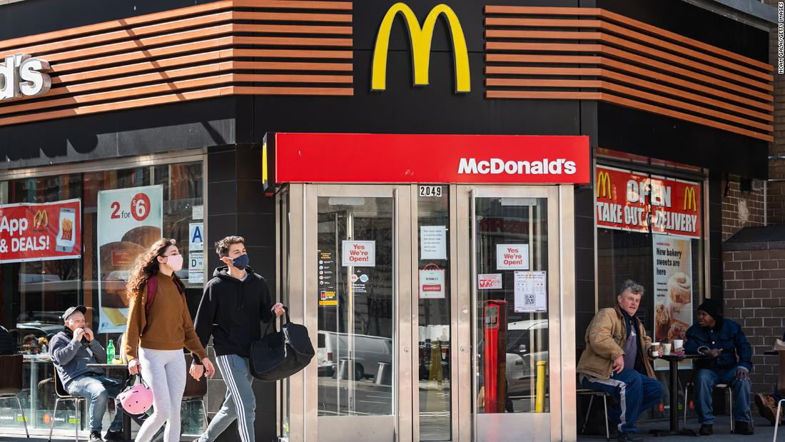 McDonald's raises wages at company-owned restaurants