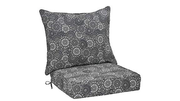Amazon Basics Deep Seat Patio Seat and Back Cushion