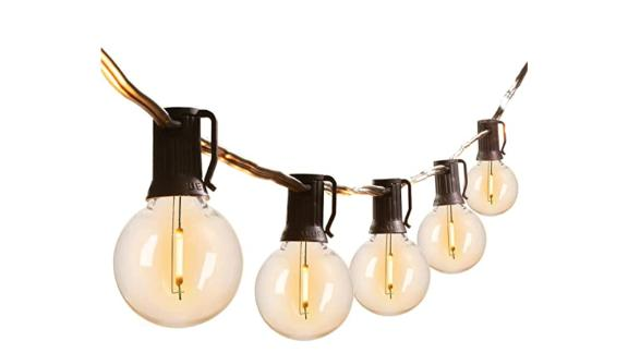 Brightown Store Outdoor String Lights With LED Shatterproof Bulbs
