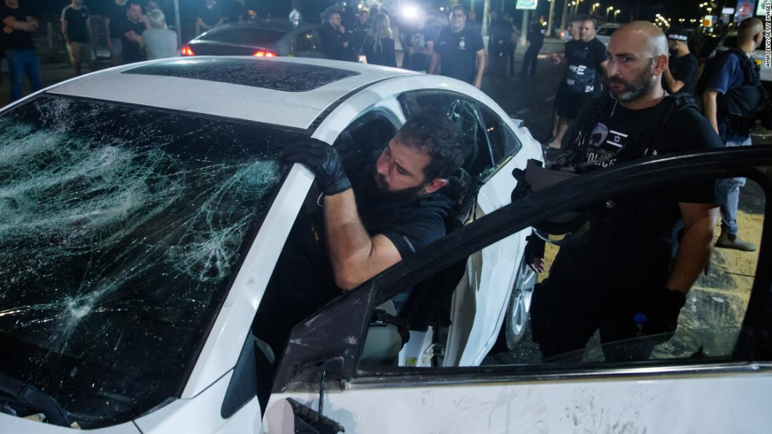 Explosion of Israeli-Palestinian violence poses a test for Biden