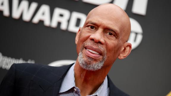 SANTA MONICA, CALIFORNIA - JUNE 24: Kareem Abdul-Jabbar attends the 2019 NBA Awards at Barker Hangar on June 24, 2019 in Santa Monica, California. (Photo by Rich Fury/Getty Images)