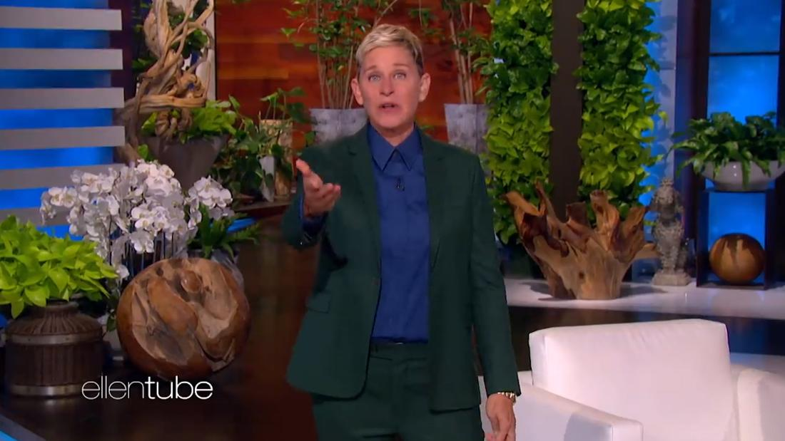 Emotional Ellen DeGeneres announces her show is ending