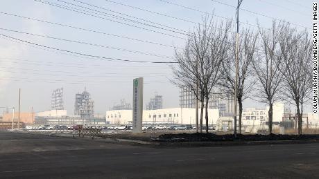 A Daqo New Energy Corp. facility in Shihezi, Xinjiang province, China.