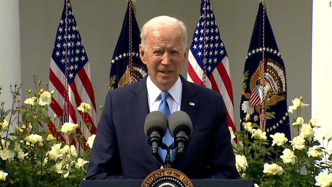 Biden touts new CDC mask guidance as