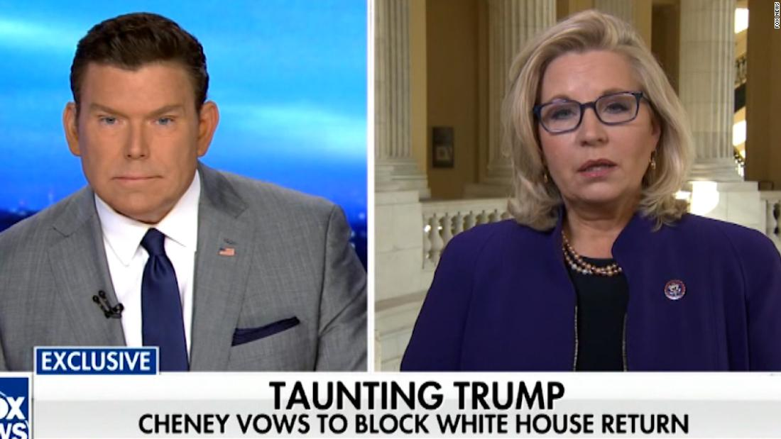 Liz Cheney calls out Fox News ... on Fox News