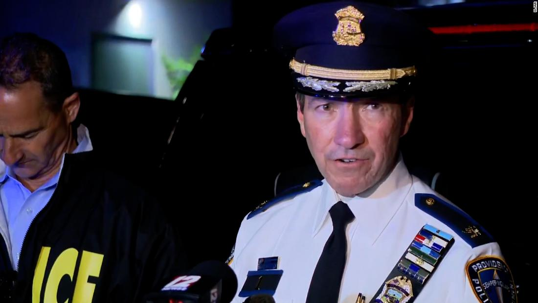 Nine people injured in shooting that Rhode Island police chief says was between feuding groups