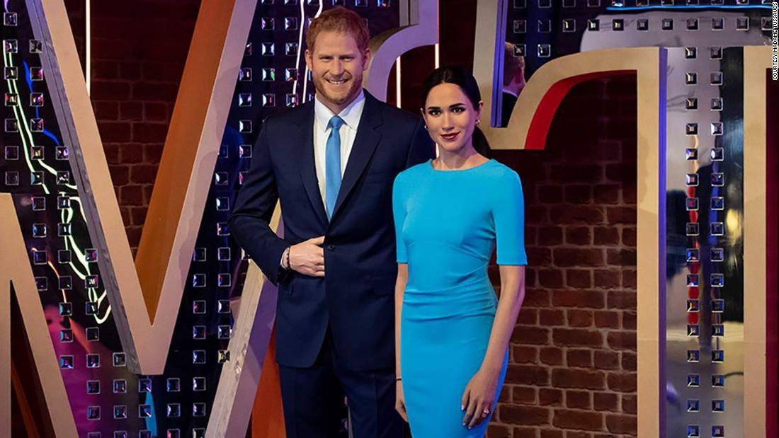 Removed from royal display, Meghan and Harry waxworks join Madame Tussauds