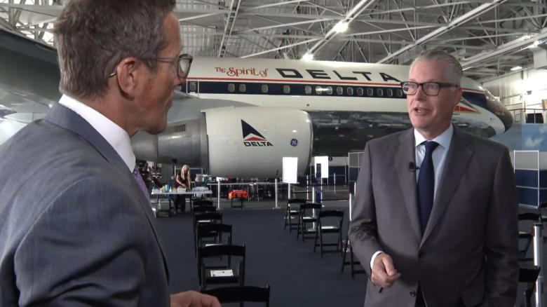 Delta CEO: All future employees must be vaccinated